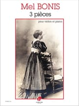 Mel Bonis - 3 pieces - Sheet Music - di-arezzo.co.uk