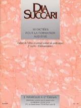 Dia Succari - Elem. 1 - 30 Dictaciones para entrenamiento auditivo - Partitura - di-arezzo.es