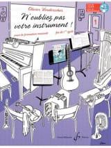N'oubliez pas votre instrument ! - Vol. 1 laflutedepan.com
