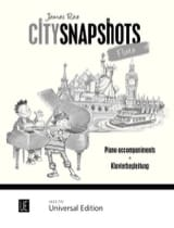 City Snapshots Flute - Accompagnements Piano James Rae laflutedepan