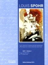 36 Duos Vol. 1 - 2 Violons Louis Spohr Partition laflutedepan.com