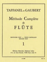 Méthode Complète de Flûte - Volume 1 laflutedepan.com