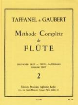 Méthode Complète de Flûte - Volume 2 laflutedepan.com