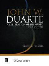 a Celebration on his Music John W. Duarte Partition laflutedepan.com