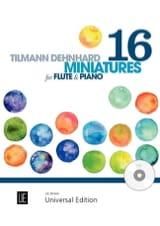 16 Miniatures Tilmann Dehnhard Partition laflutedepan.com