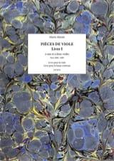 Marin Marais - Pieces of Viola - Book 1 - Sheet Music - di-arezzo.com