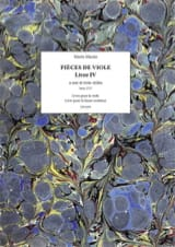 Marin Marais - Pieces of Viola - Book 4 - Sheet Music - di-arezzo.com
