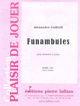 Alexandre Carlin - Funambules - Sheet Music - di-arezzo.co.uk