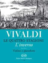 Antonio Vivaldi - Winter - Violin and Piano - Sheet Music - di-arezzo.co.uk