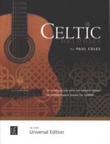 Celtic Melodies Paul Coles Partition Guitare - laflutedepan