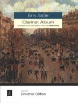 Clarinet Album SATIE Partition Clarinette - laflutedepan