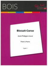 Biscuit corse Jean-Philippe Ichard Partition laflutedepan