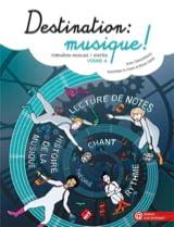Destination Musique ! Volume 4 Partition Solfèges - laflutedepan
