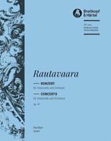 Concerto pour Violoncelle, op. 41 Einojuhani Rautavaara laflutedepan