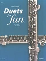 Duets for Fun - 2 Flûtes compositeurs Divers Partition laflutedepan