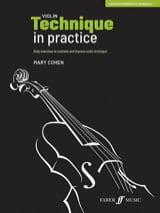 Violin Technique in practice Mary Cohen Partition laflutedepan