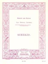 Scherzo op. 12 n° 2 Goens Daniel Van Partition laflutedepan.com