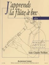 Jean-Claude Veilhan - I'm learning the alto recorder - Sheet Music - di-arezzo.com