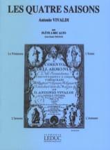 Les 4 Saisons VIVALDI Partition Flûte à bec - laflutedepan.com