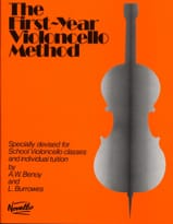 First-year Violoncello method laflutedepan.com