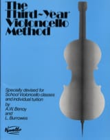 Benoy A. W. / Burrowes L. - Third-year Violoncelle method - Partition - di-arezzo.fr