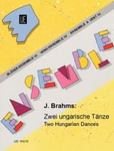 BRAHMS - 2 Ungarische Tänze - Bläser-Ensemble - Sheet Music - di-arezzo.com