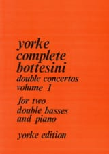 Giovanni Bottesini - Double concertos – Volume 1 - Partition - di-arezzo.fr