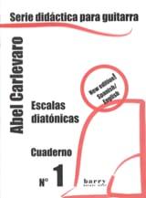 Cuaderno N° 1 Abel Carlevaro Partition Guitare - laflutedepan.com