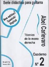 Cuaderno N° 2 Abel Carlevaro Partition Guitare - laflutedepan.com