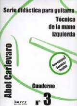 Cuaderno N° 3 Abel Carlevaro Partition Guitare - laflutedepan.com