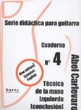 Cuaderno N° 4 Abel Carlevaro Partition Guitare - laflutedepan.com