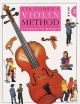 Violin Method, Volume 2 – Student Eta Cohen Partition laflutedepan.com