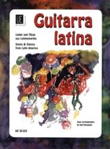 Karl Bruckner - Guitarra latina - Partition - di-arezzo.fr