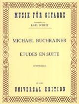 Etudes en Suite - Michael Buchrainer - Partition - laflutedepan.com