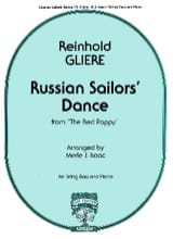 Reinhold Glière - Russian Sailor's Dance - Thong bass - Sheet Music - di-arezzo.co.uk