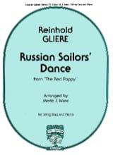 Russian Sailor's Dance - String bass Reinhold Glière laflutedepan.com