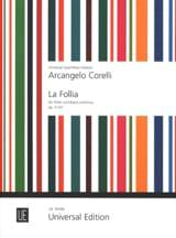 La Follia op. 5 n° 12 - Flûte et Bc - laflutedepan.com