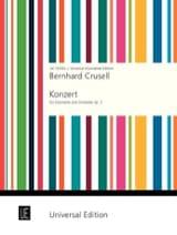 Bernhard Henrik Crusell - Konzert f-moll op. 5 – Klarinette Klavier - Partition - di-arezzo.fr