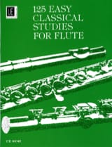 125 Easy Studies for Flute Frans Vester Partition laflutedepan.com