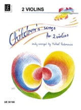 Michael Radanovics - Children's Songs for 2 Violins - Sheet Music - di-arezzo.com
