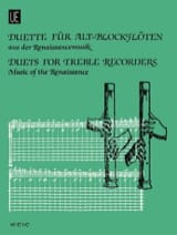 - Duette for Alt-blockflöten - Renaissancemusik - Sheet Music - di-arezzo.com