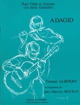Tomaso Albinoni - Adagio - Flute et Guitare ou 2 Guitares Arr. - Partition - di-arezzo.fr