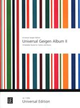 Peter Kolman - Universal Geigen Album 2 - Partition - di-arezzo.fr