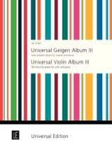Universal Geigen Album 3 Peter Kolman Partition laflutedepan.com