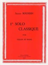 1er Solo classique Suzanne Bourdin Partition laflutedepan.com