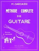 Methode Complete De Guitare Matteo Carcassi Partition laflutedepan.com