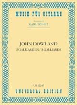 John Dowland - 2 Galliarden - Partition - di-arezzo.fr