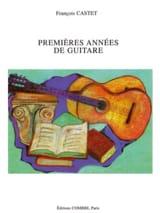 François Castet - Premières années de guitare - Partition - di-arezzo.fr