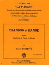 Chanson et Danse André Caurette Partition Hautbois - laflutedepan.com