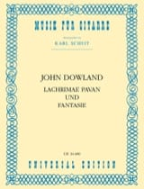 John Dowland - Lachrimae Pavan and Fantasy - Sheet Music - di-arezzo.com